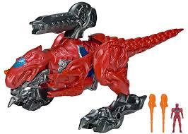 amazon power rangers movie rex battle zord red ranger