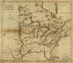 Colonial America Map by 1730 U0027s Pennsylvania Maps