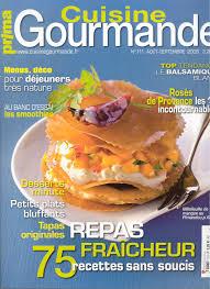 la cuisine gourmande revue de presse de l usage des douceurs