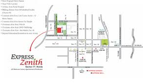 express zenith sector 77 noida ready to move 2 3 bhk flats