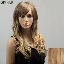 latest layered shaggy hair pictures jet black short side bang layered shaggy curly human hair wig