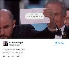 25 Best Memes About Aubrey - that cringey best picture cock up at the oscars is already one of