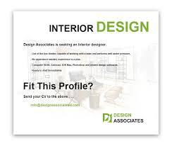 Interior Design Career Opportunities by Design Associates Interior Design Career