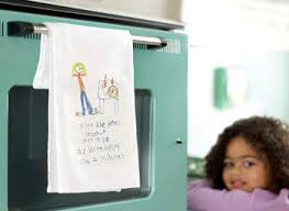 kitchen towel craft ideas recipe dish towel craft have your kids tell you how they think