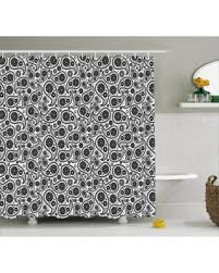 Black And White Paisley Shower Curtain - find the best black friday savings on paisley decor shower curtain