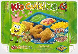 bob cuisine 2002 kid cuisine sponge bob frozen tv dinner box a photo on flickriver