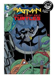 dc comics batman teenage mutant ninja turtles 1 mike allred