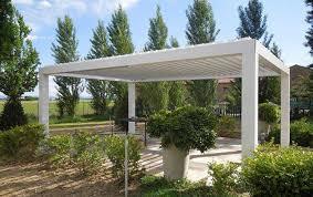 tettoia autoportante preventivo pergola in alluminio autoportante a lamelle orientabili