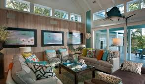 living room neutral coastal living room with fireplace cute