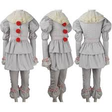 Halloween Costumes Jester King U0027s 2017 Film Evil Pennywise Cosplay Halloween Costume