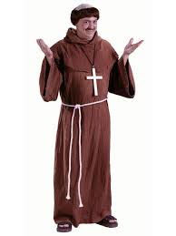 monk costume plus size religious halloween costumes
