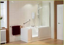 Tub Shower Combo Walk In Bathtub And Shower Combo 19 Magnificent Bathroom With Walk