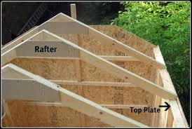 How To Make A Shed Out Of Wood by How To Build A Shed Roof Outside Projects Pinterest Building