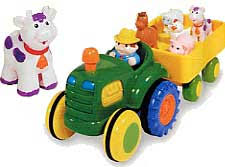 Toy Barn With Farm Animals Fun Time Tractor Farm Animal Friends U0026 Sounds