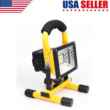 10w rechargeable flood light portable 10w rechargeable flood light spot work cing outdoor lawn