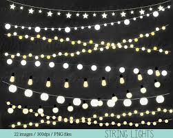 Hanging Christmas Lights by White Christmas Lights Clip Art 71