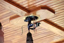 Ceiling Fan Brackets by How To Install A Ceiling Fan Pretty Handy