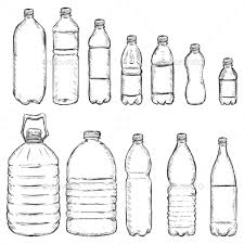 vector set of sketch plastic bottles by nikiteev graphicriver
