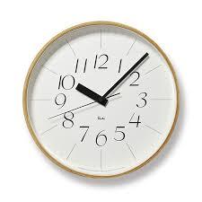 Modern Wall Clock Riki Watanabe U0027riki U0027 Japanese Modern Wall Clock Nova68 Modern Design