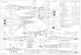 f 15e strike eagle blueprints google search aegis pinterest