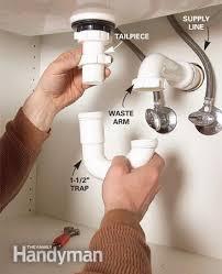 Replace Kitchen Sink Drain Pipe by Repair Kitchen Sink Drain Leak House Design