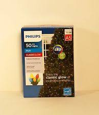 philips classic glow led 50 multi colord indoor c3 lights ebay