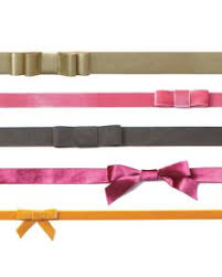 ribbon belts ribbon bow belt martha stewart weddings fashion beauty