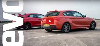 fastest bmw 135i bmw m135i vs honda civic type r which is fastest