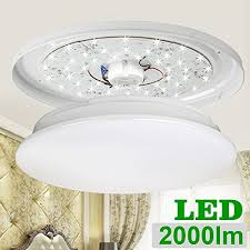 Round Fluorescent Light Fixture Le 24w 16 Inch Daylight White Led Ceiling Lights 180w