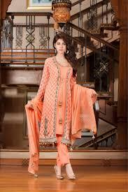 pinkish peach color party wear dress exclusive online boutique