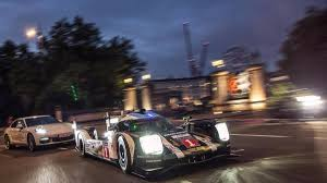 porsche 919 top view porsche brings 919 and panamera hybrid to london proper