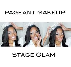 full glam pageant makeup for stage youtube