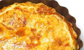 cuisine lorraine recette quiche lorraine sans pâte pour 4 personnes recettes à table