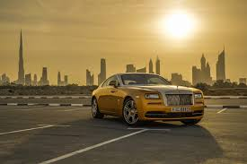 gold cars wallpapers dubai rolls royce wraith luxury cityscape gold color