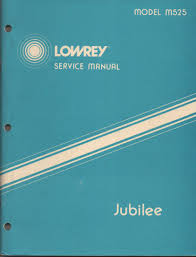 lowrey parade owners manual image mag
