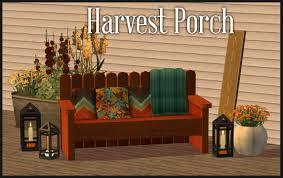 mod the sims harvest porch