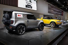 jeep defender 2016 next land rover defender delayed to 2019 will not look like dc100