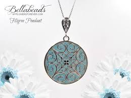 necklace pendant circle images Flower petal jewelry cremation pendant memorial gifts flowers jpg