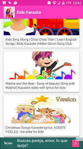 kids karaoke songs android apps on google play