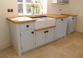 outstanding standing kitchen sink unit and amazing cabinet ideas