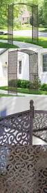 arbors and arches 180993 garden arbor trellis steel pergola