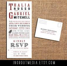 Wedding Invitations With Rsvp 72 Best Wedding Invitations Images On Pinterest Invitation Ideas