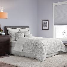 Bed Bath And Beyond Nightstand Real Simple Irving Reversible Duvet Cover Set In Grey White Bed