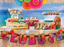 luau party decorations luau party ideas party city