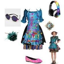 costume garã on mariage descendants evie polyvore descendants style