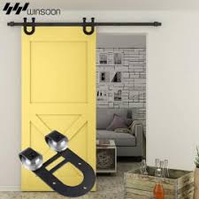 Hanging Closet Doors Sliding Barn Door Hardware Winsoon Hardware