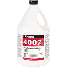 roberts 4002 1 gal carpet pad glue adhesive 4002 1 the home depot