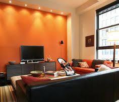 orange livingroom 15 lively orange living room enchanting orange living room design