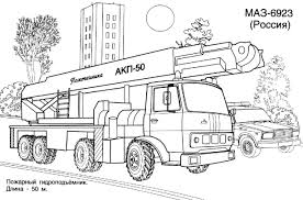 camion coloriages des transports page 3
