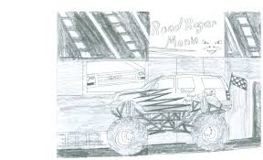 my design for a monster truck drawing labradorkid1993 2017
